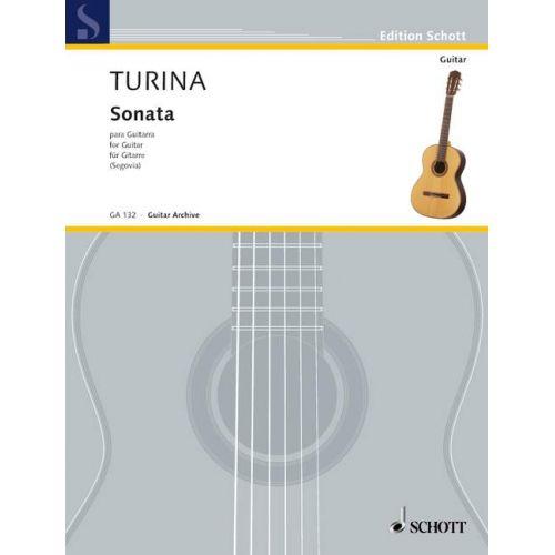 SCHOTT TURINA JOAQUIN - SONATA - GUITAR