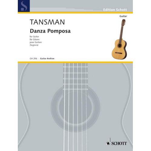SCHOTT TANSMAN ALEXANDRE - DANZA POMPOSA - GUITAR