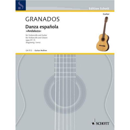 SCHOTT GRANADOS I CAMPIÑA ENRIC - DANZA ESPAÑOLA