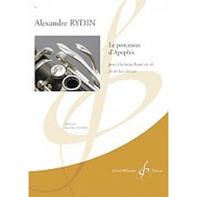 BILLAUDOT RYDIN ALEXANDRE - LE PROCESSUS D'APOPHIS - CLARINETTE BASSE EN SIb