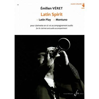 BILLAUDOT VERET EMILIEN - LATIN SPIRIT - LATIN PLAY - MONTUNO - CLARINETTE & ACCOMPAGNEMENT AUDIO