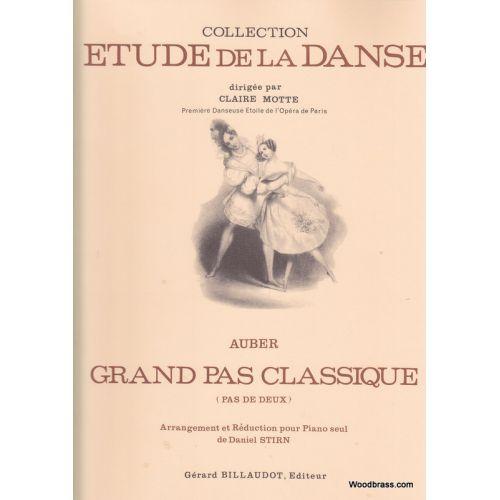 BILLAUDOT AUBER - GRAND PAS CLASSIQUE - PIANO