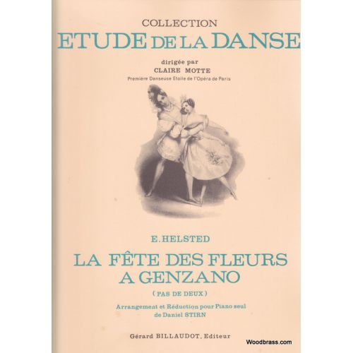 BILLAUDOT HELSTED - LA FETE DES FLEURS A GENZANO - PIANO