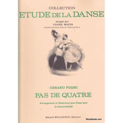 BILLAUDOT PUGNI C. - PAS DE QUATRE - PIANO