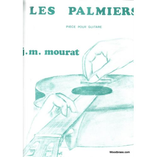 BILLAUDOT MOURAT JEAN-MAURICE - LES PALMIERS - GUITARE