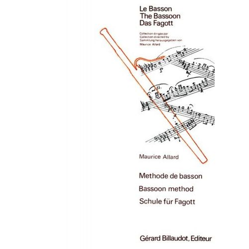 BILLAUDOT ALLARD MAURICE - METHODE DE BASSON