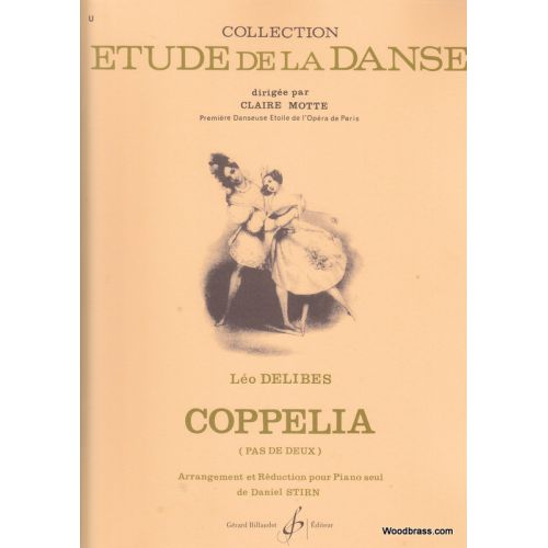 BILLAUDOT DELIBES LEO - COPPELIA PAS DE DEUX - PIANO