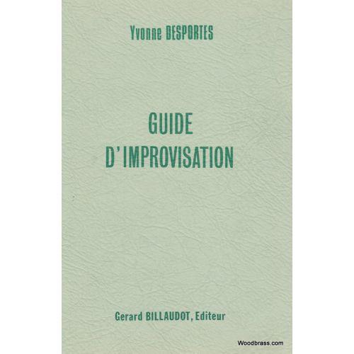 BILLAUDOT DESPORTES Y. - GUIDE D'IMPROVISATION