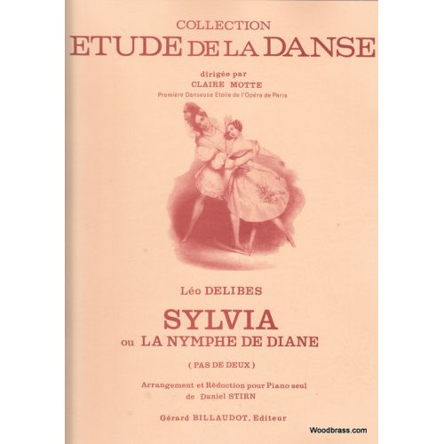 BILLAUDOT DELIBES LEO - SYLVIA OU LA NYMPHE DE DIANE - PIANO