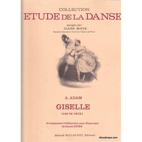 BILLAUDOT ADAM ADOLPHE - GISELLE (PAS DE DEUX) - PIANO