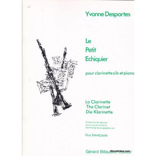 BILLAUDOT DESPORTES Y. - LE PETIT ECHIQUIER - CLARINETTE ET PIANO