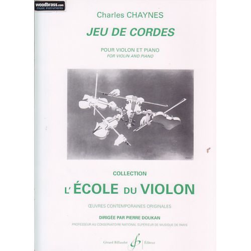 BILLAUDOT CHAYNES CHARLES - JEU DE CORDES - VIOLON