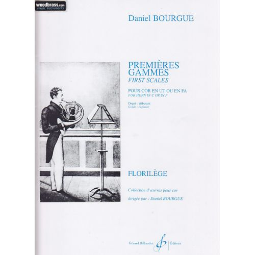 BILLAUDOT BOURGUE DANIEL - PREMIERES GAMMES - COR