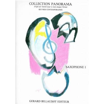 BILLAUDOT DIVERS AUTEURS - PANORAMA SAXOPHONE VOLUME 1 - SAXOPHONE MI B ET PIANO