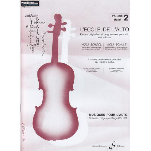 BILLAUDOT LAINE F. - L'ECOLE DE L'ALTO VOL. 2