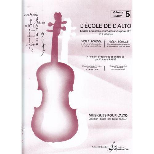 BILLAUDOT LAINE F. - L'ECOLE DE L'ALTO VOLUME 5
