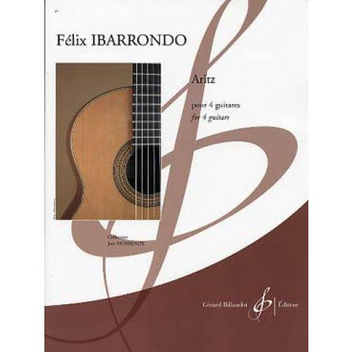 BILLAUDOT IBARRONDO FELIX - ARITZ - 4 GUITARES
