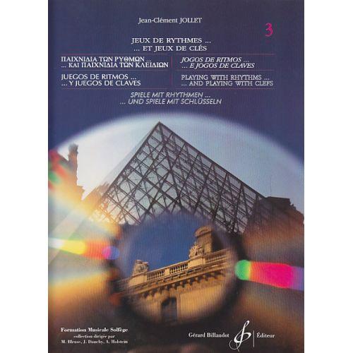 BILLAUDOT JOLLET JEAN-CLEMENT - JEUX DE RYTHMES...JEUX DE CLES VOL.3