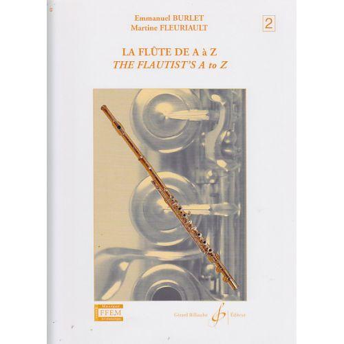 BILLAUDOT BURLET/FLEURIAULT - LA FLUTE DE A à Z VOL.2