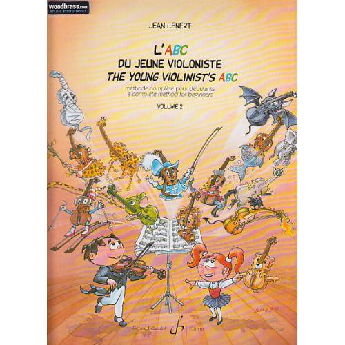 BILLAUDOT LENERT JEAN - L'ABC DU JEUNE VIOLONISTE VOL.2