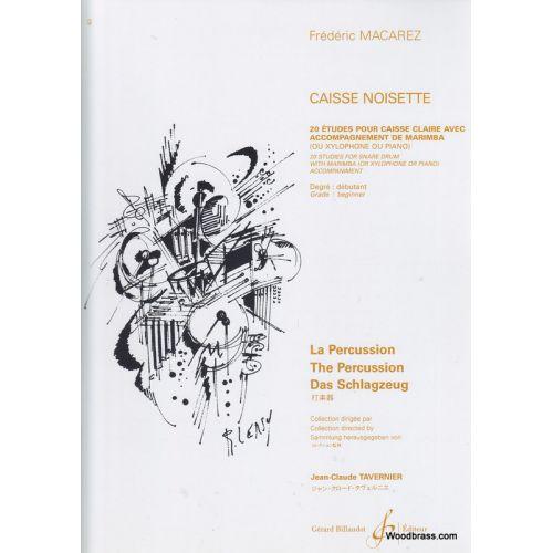 BILLAUDOT MACAREZ FREDERIC - CAISSE-NOISETTE - CAISSE CLAIRE ET MARIMBA (XYLOPHONE)