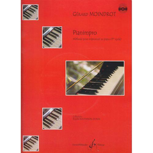 BILLAUDOT MOINDROT GERARD - PIANIMPRO + CD - PIANO