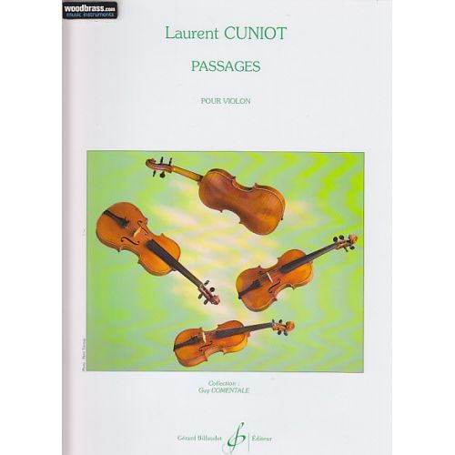 BILLAUDOT CUNIOT LAURENT - PASSAGES - VIOLON