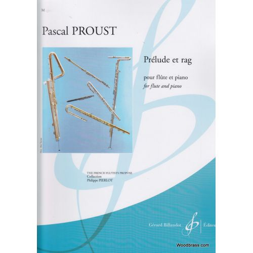 BILLAUDOT PROUST PASCAL - PRELUDE ET RAG - FLUTE & PIANO