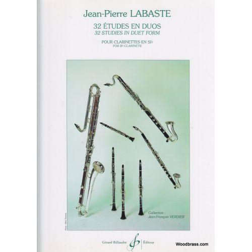 BILLAUDOT LABASTE, J.P. - 32 ETUDES EN DUO - KLARINET