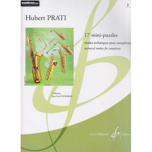 BILLAUDOT PRATI HUBERT - 17 MINI-PUZZLES - SAXOPHONE