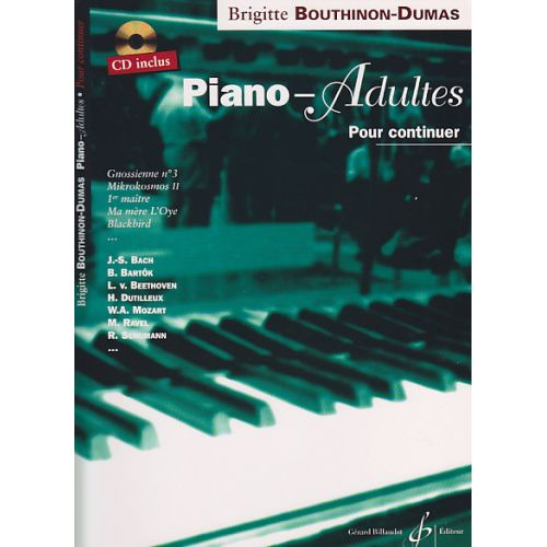 BILLAUDOT BOUTHINON-DUMAS B. - PIANO-ADULTES VOL. 2