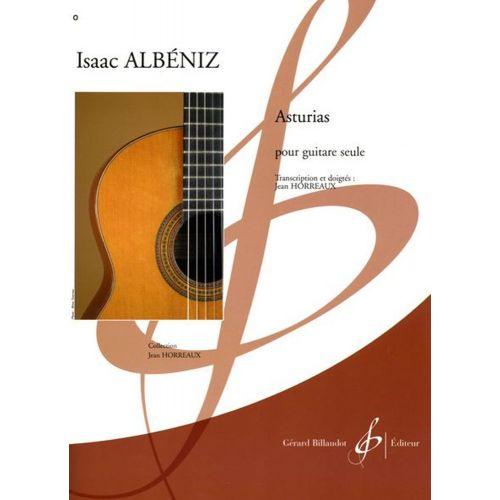 BILLAUDOT ALBENIZ ISAAC - ASTURIAS - GUITARE SEULE