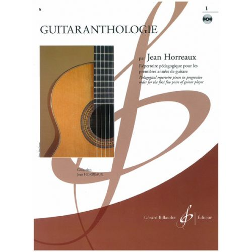 BILLAUDOT GUITARANTHOLOGIE VOL.1 + CD - GUITARE