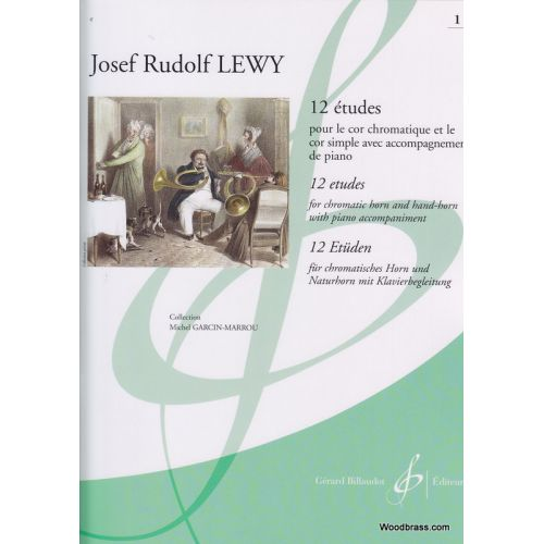 BILLAUDOT RUDOLF LEWY, J. - 12 ETUDES VOL.1 - COR