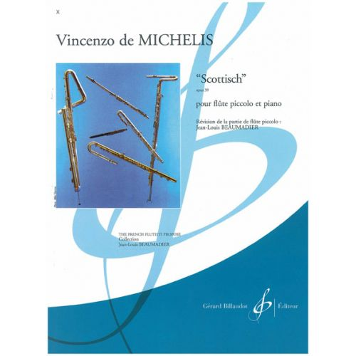 BILLAUDOT DE MICHELIS VICENZO - SCOTTISCH OP.39 - FLUTE PICCOLO