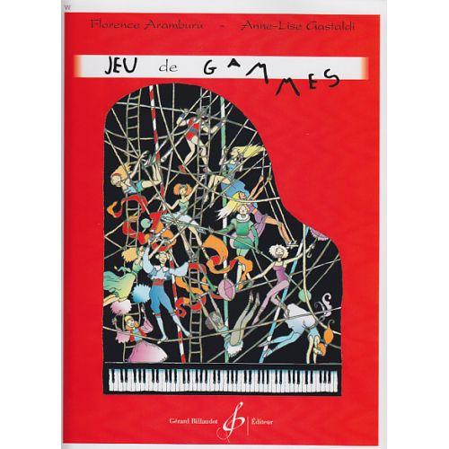 BILLAUDOT ARAMBURU FLORENCE - JEU DE GAMMES - PIANO