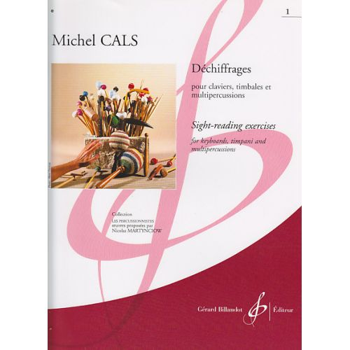 BILLAUDOT CALS MICHEL - DECHIFFRAGES VOL.1