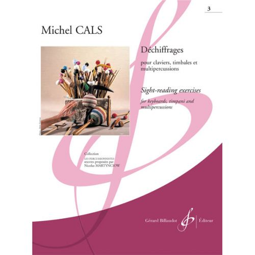 BILLAUDOT CALS MICHEL - DECHIFFRAGES VOL.3 - PERCUSSION