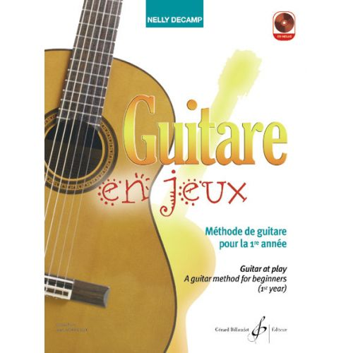 BILLAUDOT DECAMP NELLY - GUITARE EN JEUX + CD