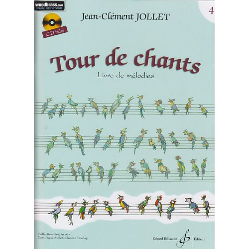 BILLAUDOT JOLLET JEAN-CLEMENT - TOUR DE CHANTS VOL.4 + CD