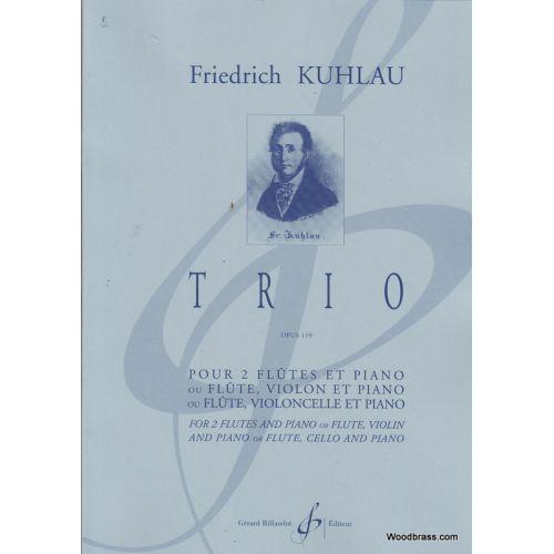 BILLAUDOT KUHLAU F. - TRIO OP. 119 - 2 FLUTES ET PIANO