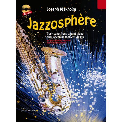 BILLAUDOT MAKHOLM JOSEPH - JAZZOSPHERE VOL.1 + CD - SAXOPHONE