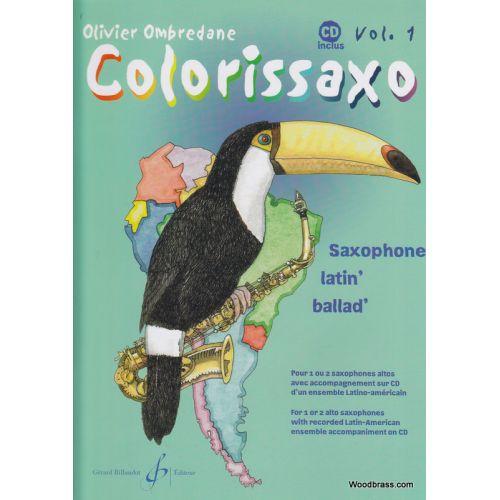 BILLAUDOT OMBREDANE O. - COLORISSAXO VOL. 1