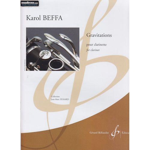BILLAUDOT BEFFA K. - GRAVITATIONS - CLARINETTE SEULE
