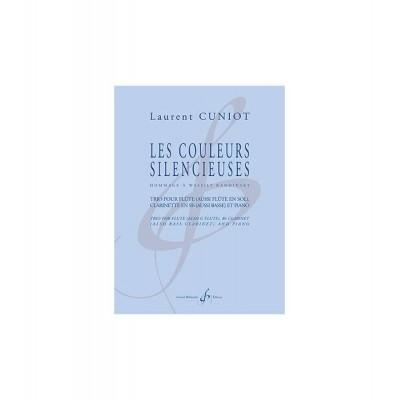 BILLAUDOT CUNIOT LAURENT - LES COULEURS SILENCIEUSES - TRIO