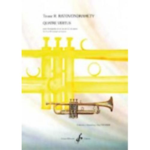 BILLAUDOT RATOVONDRAHETY TOUVE R. - QUATRE VERTUS - TROMPETTE & PIANO