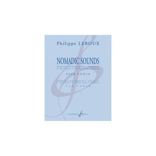 BILLAUDOT LEROUX PHILIPPE - NOMADIC SOUNDS - CHOEUR