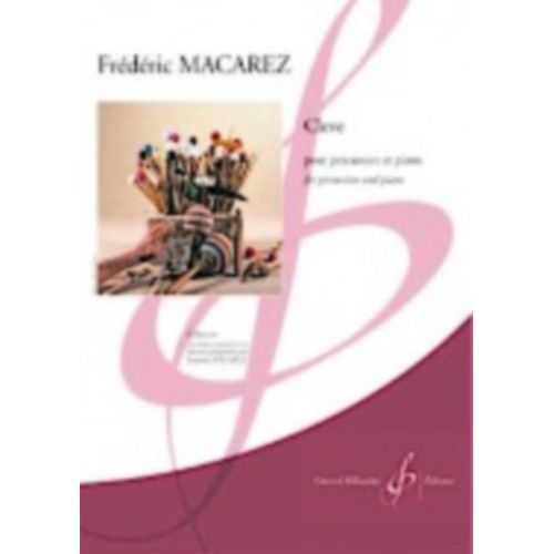 BILLAUDOT MACAREZ FREDERIC - CLEVE - PERCUSSION & PIANO