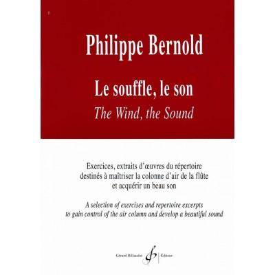 BILLAUDOT BERNOLD PHILIPPE - LE SOUFFLE, LE SON - FLÛTE