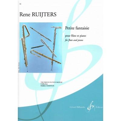BILLAUDOT RUIJTERS RENE - PETITE FANTAISIE - FLUTE & PIANO